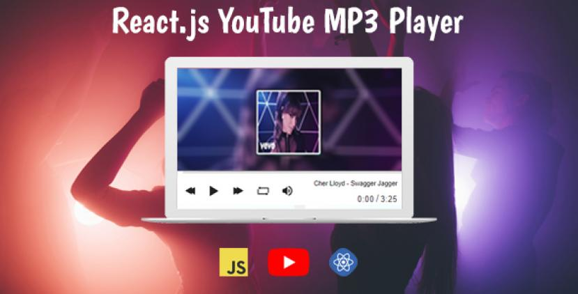 React.js YouTube MP3 Player